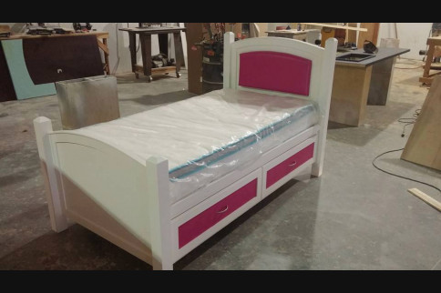Custom bed frame for your home in Saint Cloud, FL.